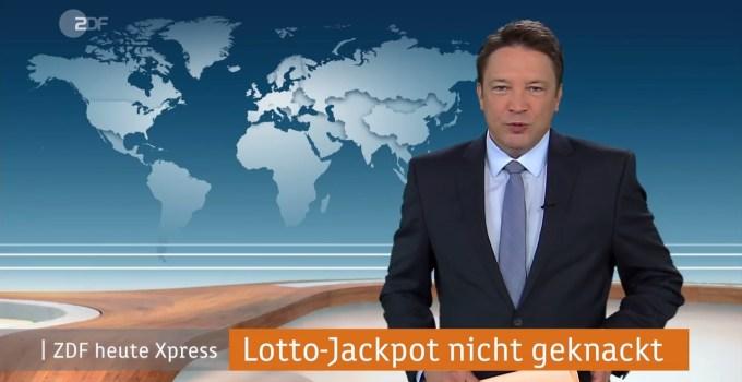 ZDF heute express über Mega Millions