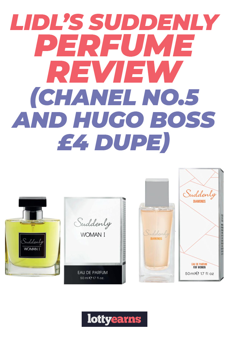 Lidl's Suddenly Perfume review (Chanel No 5 and Hugo Boss £4