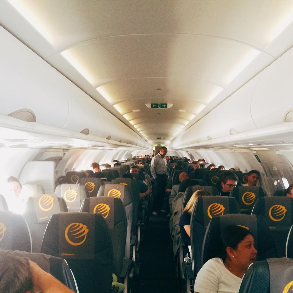 Primera Air Economy