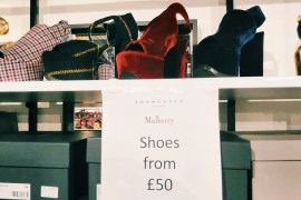 Mulberry sample sale
