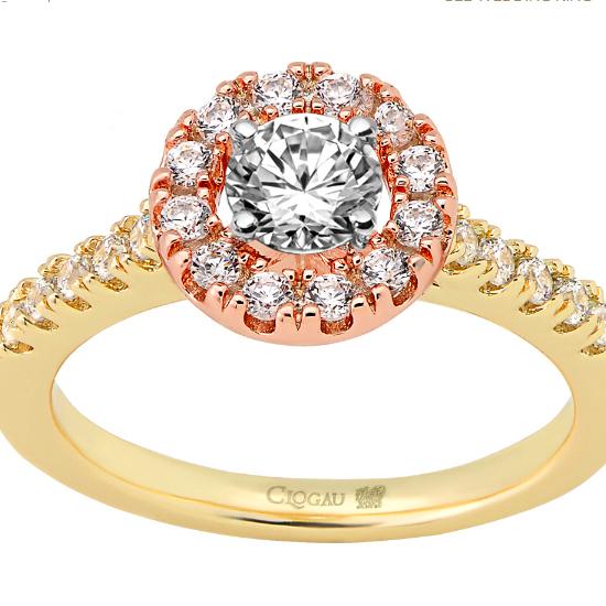 Clogau diamond engagement ring