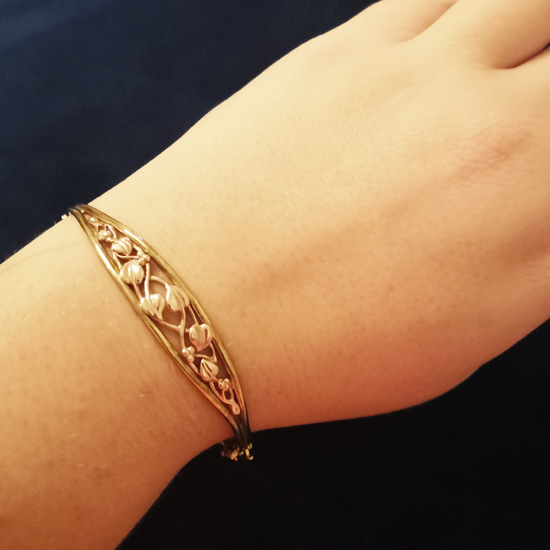 Clogau gold Tree of Life Bangle