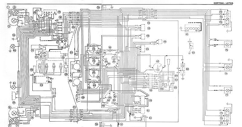 ford cortina mk2 wiring diagram demag hoist lotus diagrams
