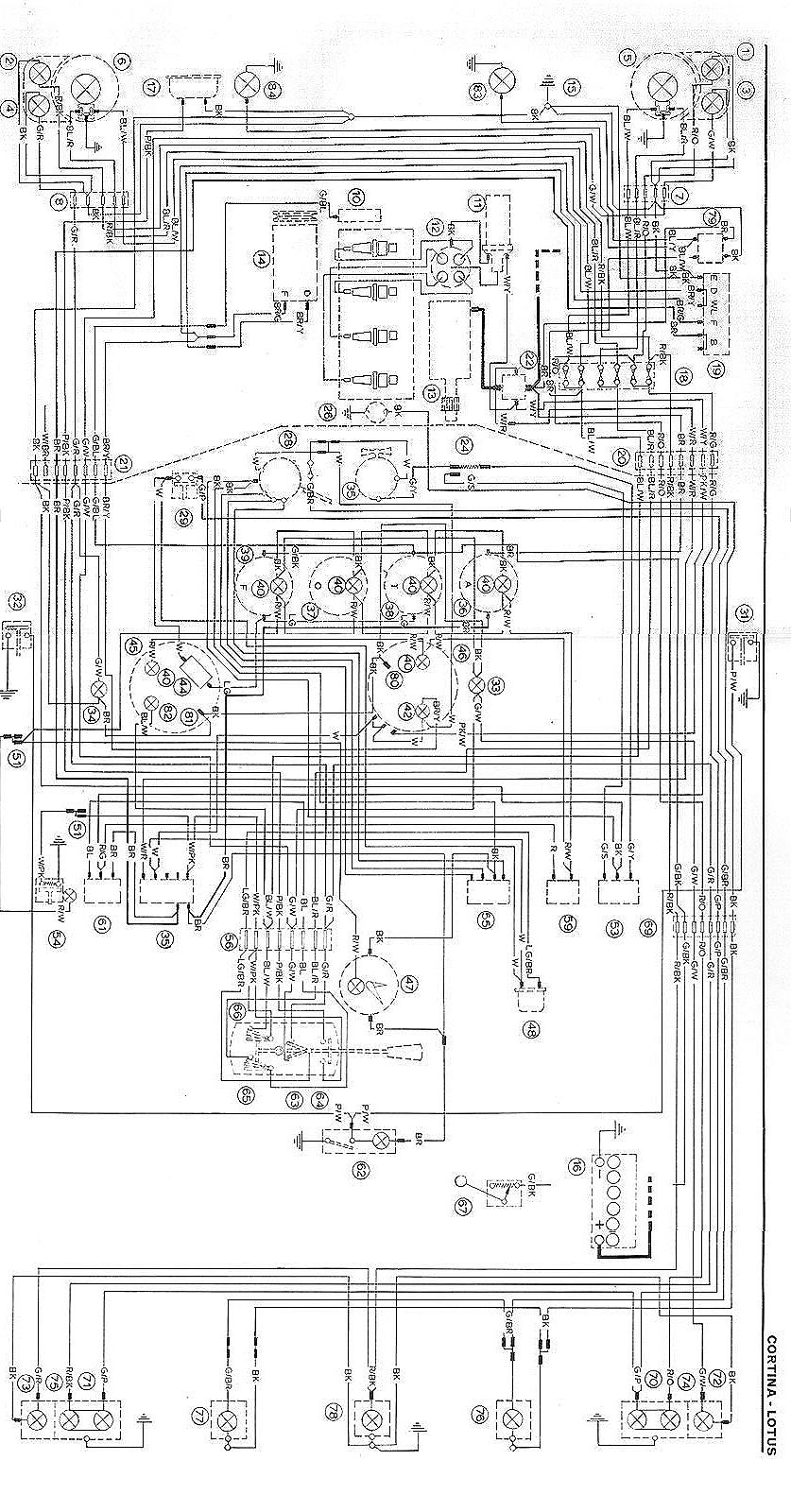 3 Wire Headlight Wiring Lotus Cortina Wiring Diagrams