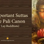 20 Important Suttas in the Pali Canon (for Lay Buddhists)