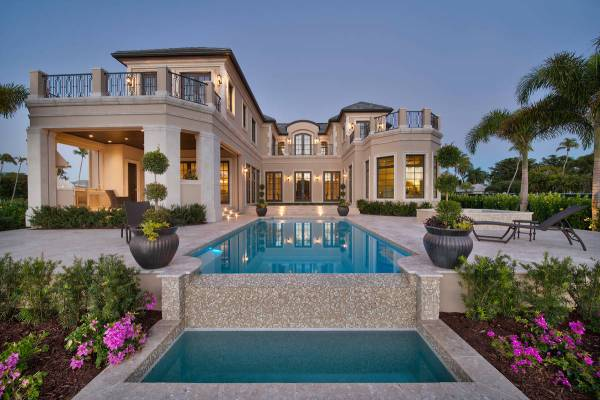 Grande Royale House Plan Naples Florida Plans