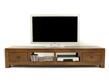 meuble tv en bois massif acacia