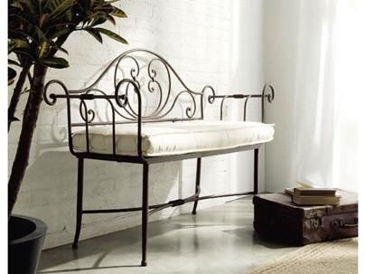 meubles en fer forge mobilier pour la