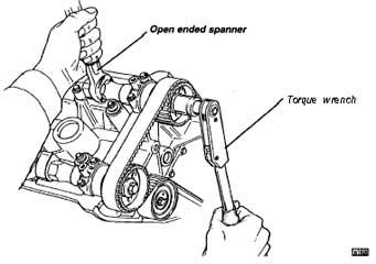 Service manual [1997 Lotus Esprit Crank Sensor Removal