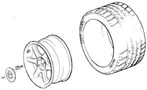 Esprit Wheel Fixings