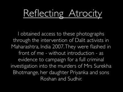 Reflecting Atrocity by Pratap Rughani