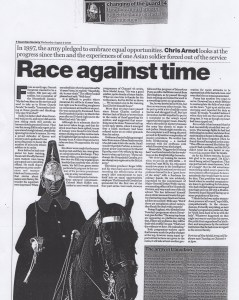 Race against time, The Guardian