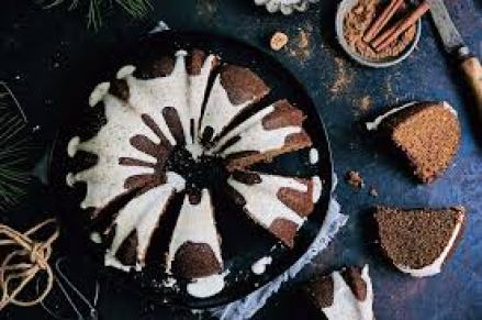 Gingerbread Bundt Cake Keto Dessert