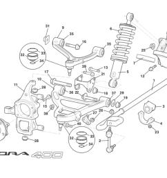 front suspension incl hubs [ 1840 x 1300 Pixel ]