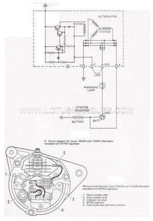 Lucas 17acr Alternator Wiring Diagram  Somurich