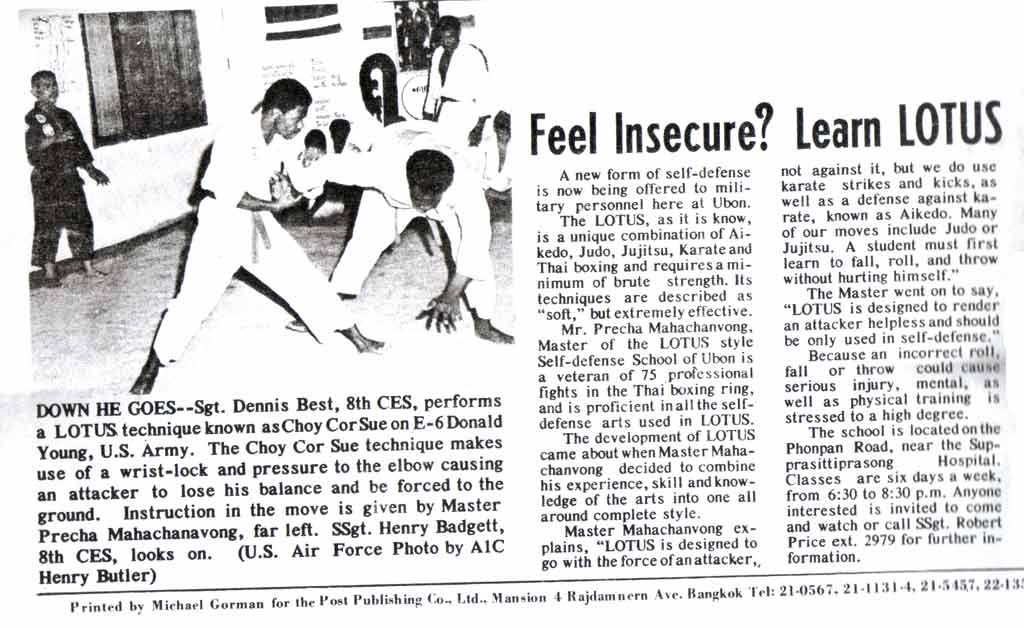 Lotus Self-Defense in the Media, Page 1