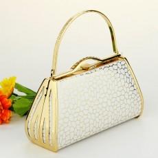กระเป๋างานราตรี สวยออกงานสุดหรูหราแฟชั่นเกาหลี นำเข้า สีขาว - พรีออเดอร์AP2539 ราคา850บาท