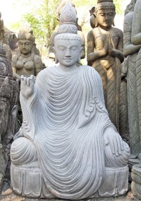 "Custom Large Buddha Garden Statue 65"" (#77ls123): Hindu ..."