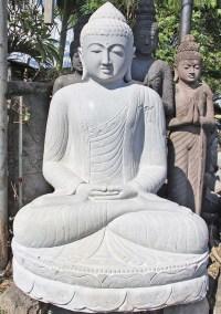 "Large Meditating Buddha Statue Garden 79"" (#77ls126 ..."