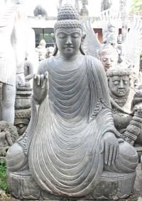 "Stone Large Teaching Garden Buddha Statue 62"" (#96ls3 ..."