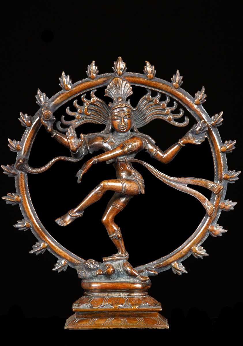 SOLD Brass Nataraja Statue 11 61bs35 Hindu Gods  Buddha Statues