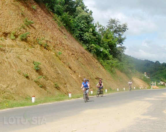 Cycling Dalat to Hoi An