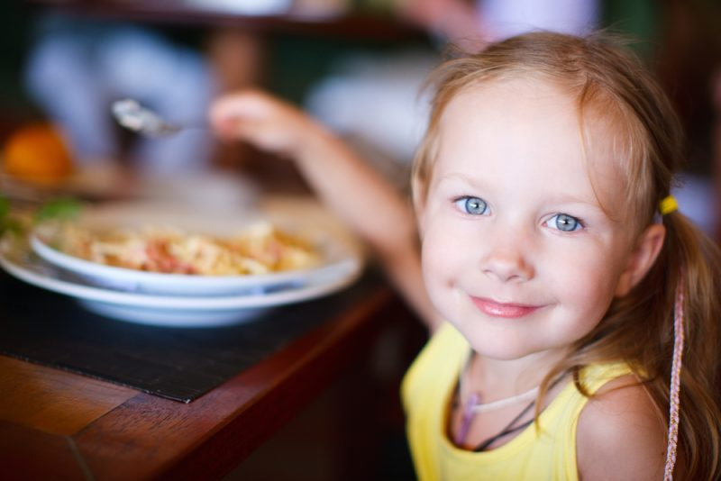 kinderen in een restaurant: do or don't