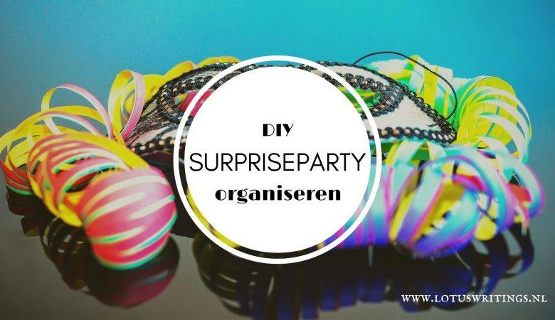surpriseparty organiseren