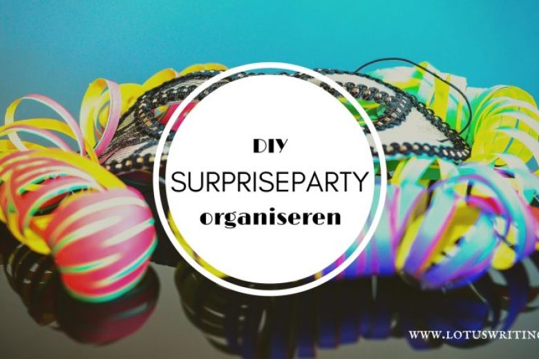 surpriseparty organiseren