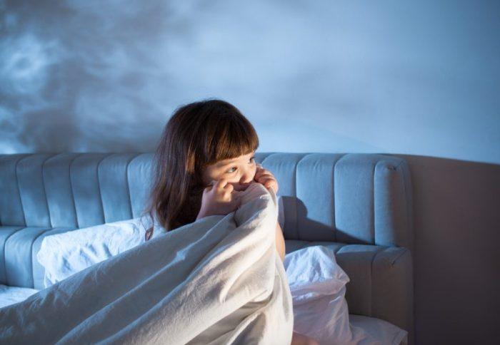 angst peuters voor het slapen gaan