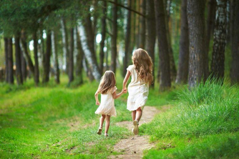 kleine zusjes