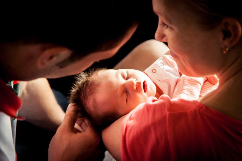 bevalling overweldigend tijd daarna