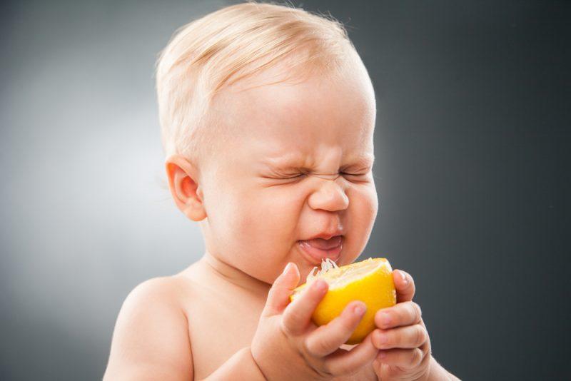leren proeven: smaakbeleving bij baby's