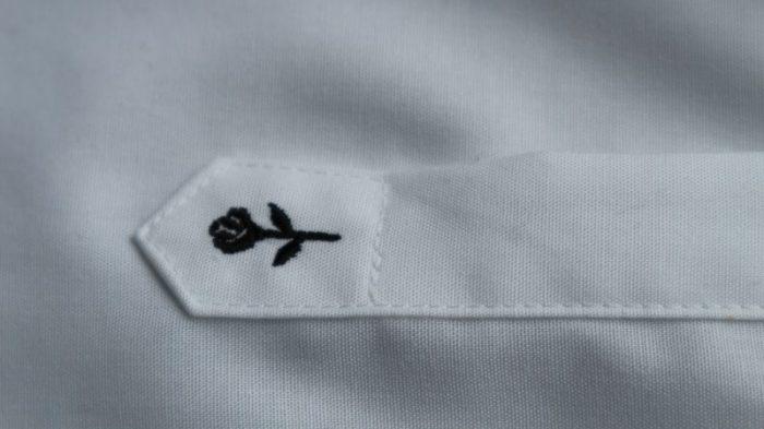 witte overhemd
