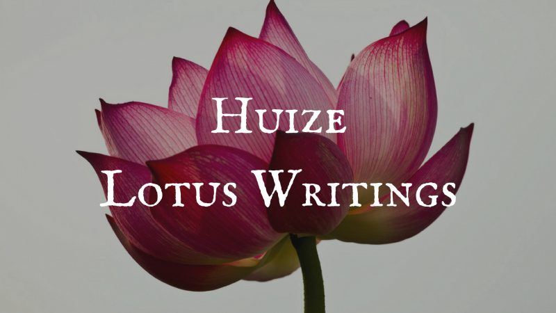 huize lotus writings