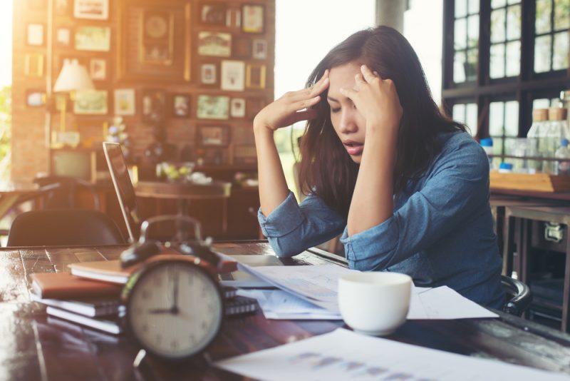 Werkdruk verlagen thuiswerken zzp stress