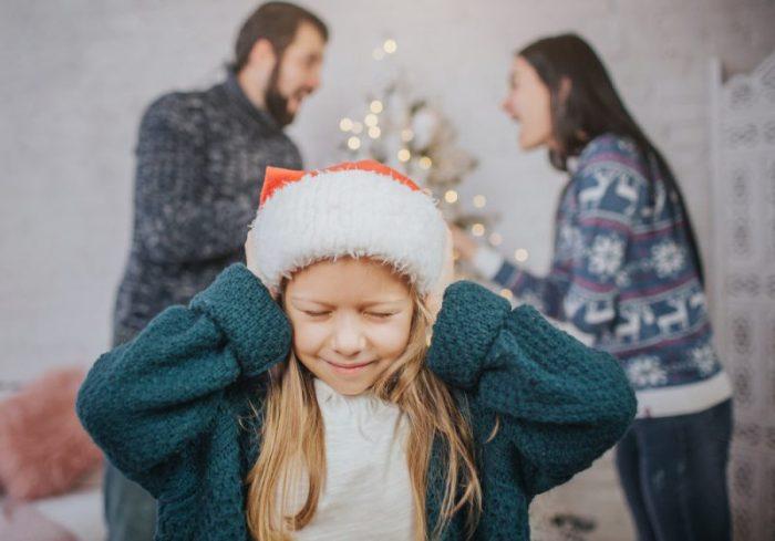 kerst na een scheiding