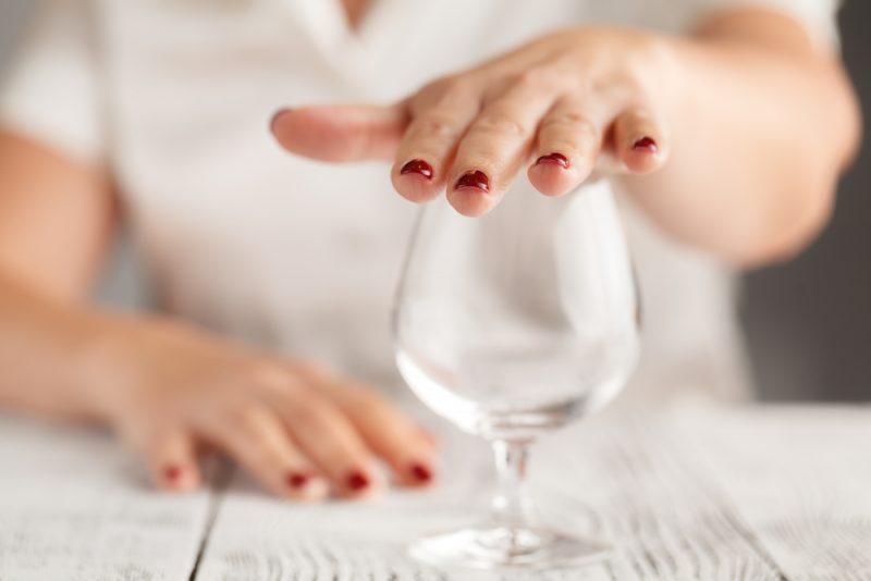 smoesjes wijn weigeren tijdens de zwangerschap