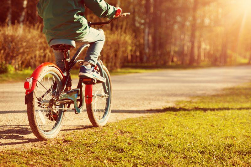 kind zelf fietsen tips onderweg