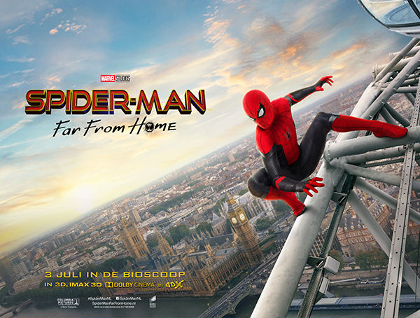 Spider-Man Far From Home filmposter