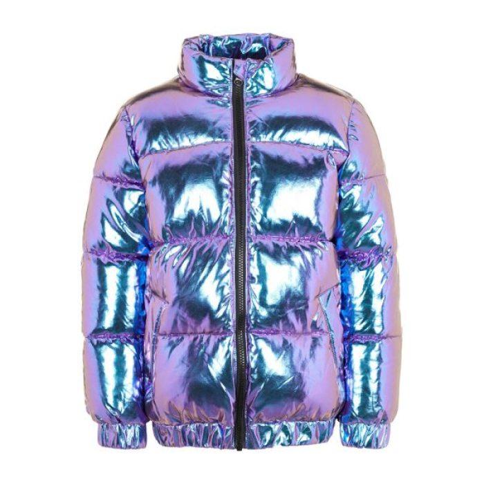 trends winterjassen 2019 2020 metallic jas name it