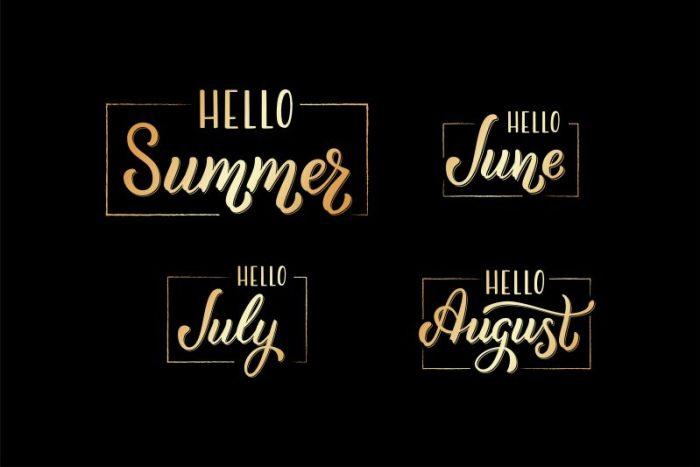 vakantiedagboek bullet journal juni juli augustus