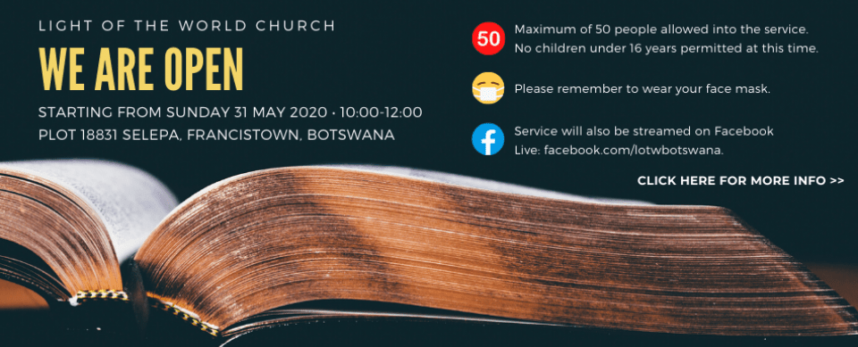Web Slide – Church Reopening