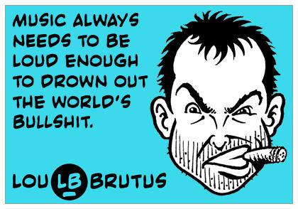 LB drown out BS