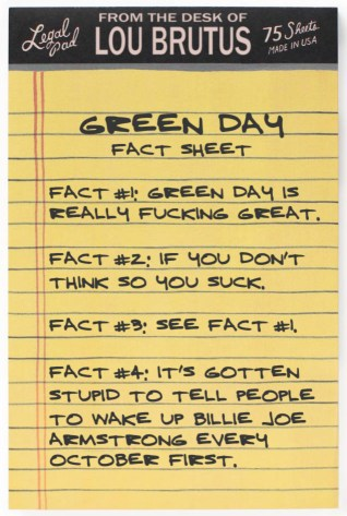 NOTEPAD-GREEN-DAY-FACTS
