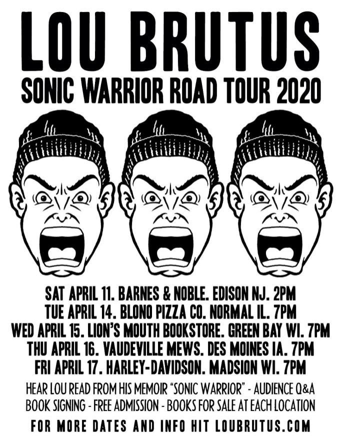 sonic warrior tour