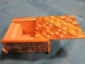Karakuri box gift from Hakone, Japan