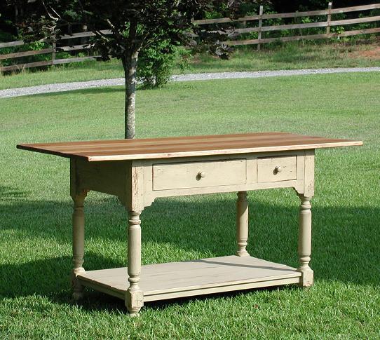 kitchen work tables tile floor ideas table