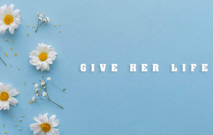 Giver her life Artwork Loudink