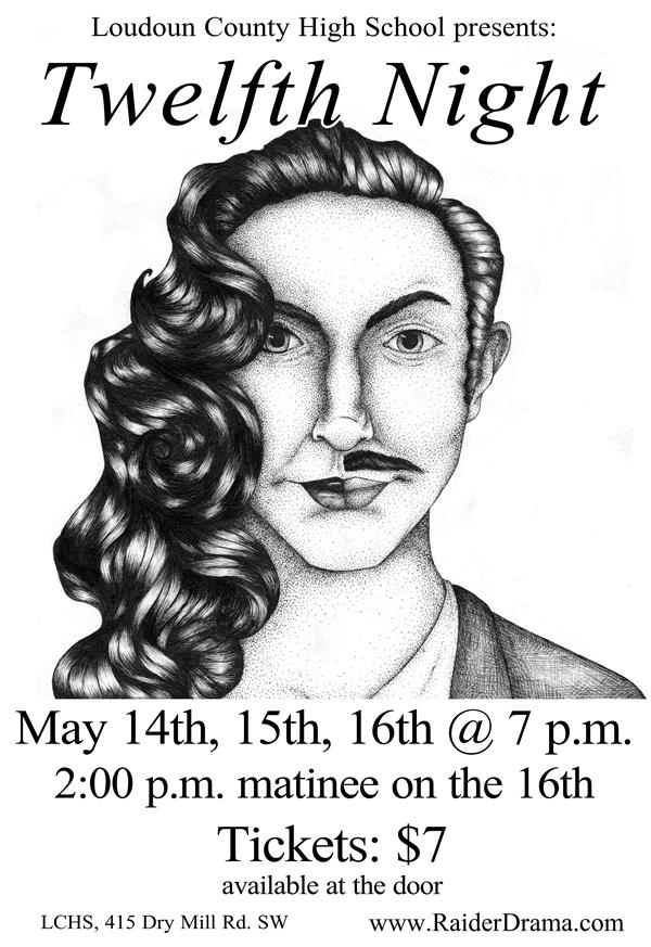 Drama Club / Twelfth Night Poster